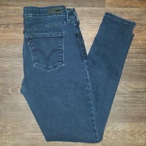 Levi's dark denim jeans legging size 10 M 30 x 32